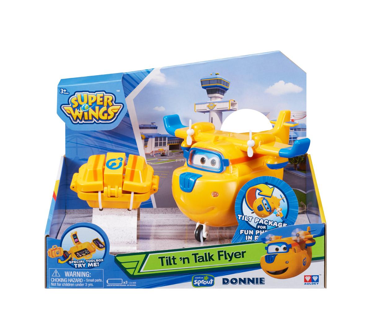 Купить Самолет Донни с чемоданчиком, свет, звук из серии Супер Крылья, Auldey Toys