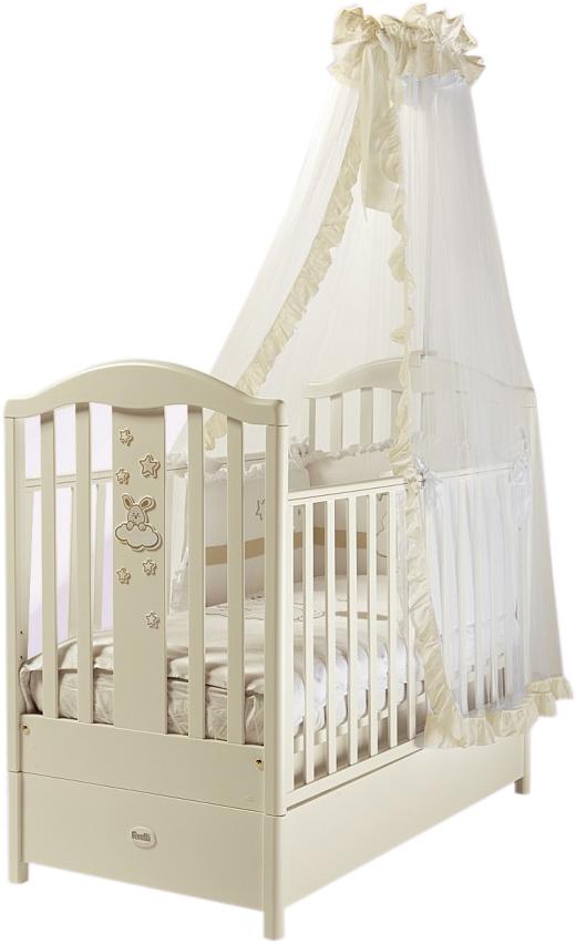 Кровать детская Romance, слоновая костьДетские кровати и мягкая мебель<br>Кровать детская Romance, слоновая кость<br>