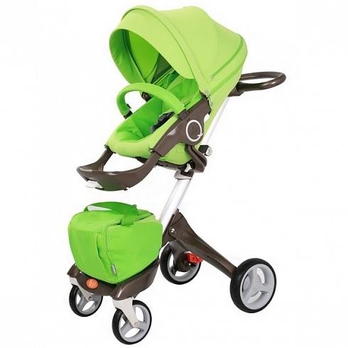 Детская коляска 2 в 1 - Nuovita Sogno, зеленая