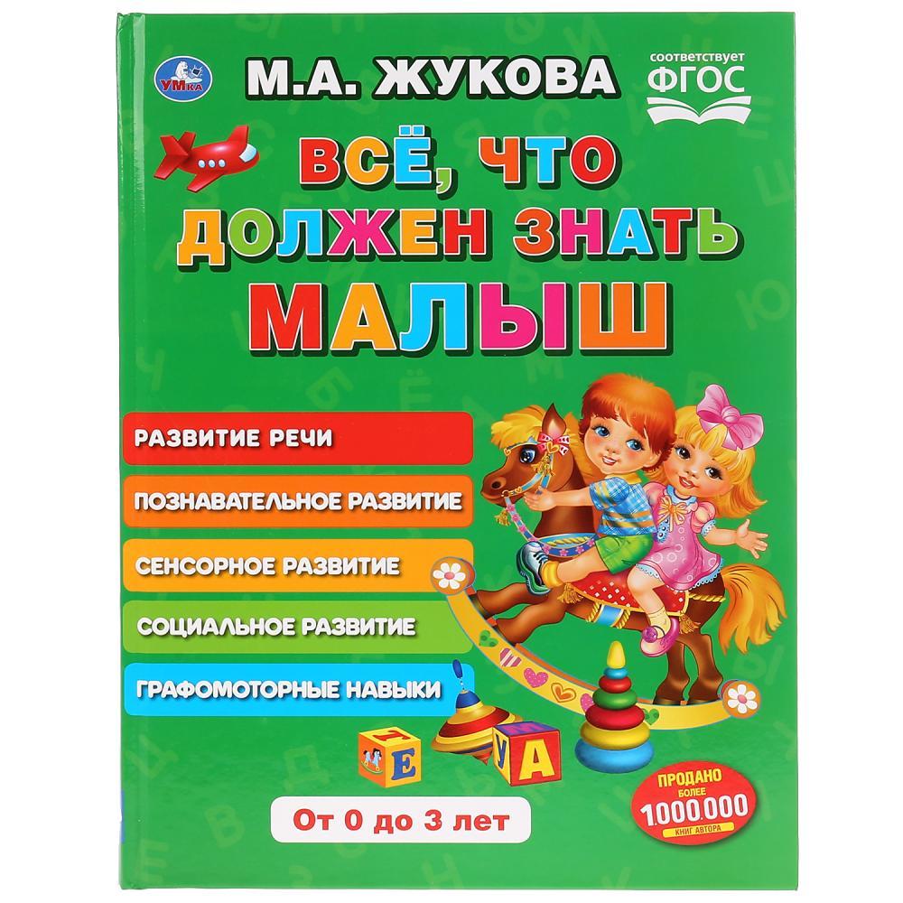 Книга из серии Букварь М.А. Жукова - Все, что должен знать малыш фото