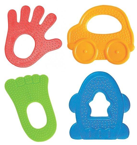 Игрушка-прорезывательДетские погремушки и подвесные игрушки на кроватку<br>Игрушка-прорезыватель<br>