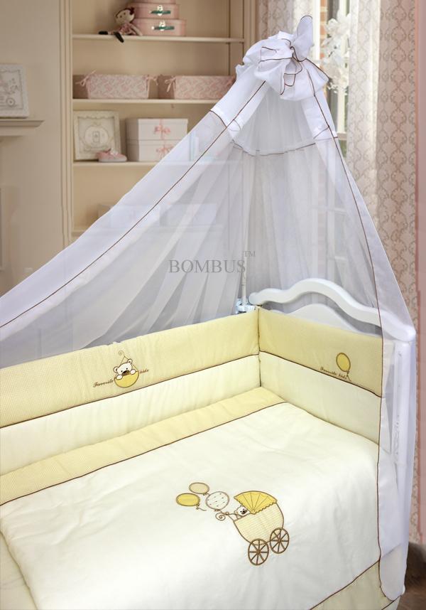 Комплект постельного белья и спальных принадлежностей из 7 предметов - Мой малышДетское постельное белье<br>Комплект постельного белья и спальных принадлежностей из 7 предметов - Мой малыш<br>