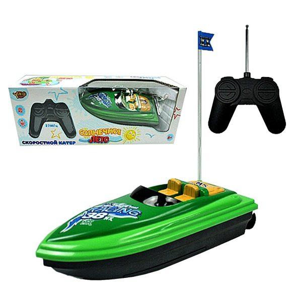 Катер на радиоуправлении - Солнечное лето, зеленыйКатера, лодки и корабли на радиоуправлении<br>Катер на радиоуправлении - Солнечное лето, зеленый<br>