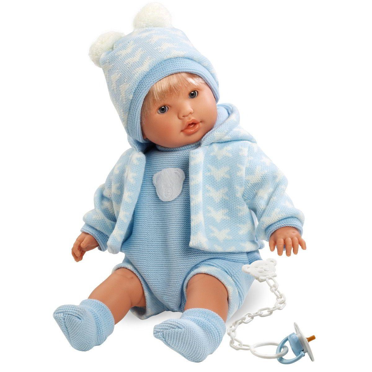 Кукла Нико, 48 смИспанские куклы Llorens Juan, S.L.<br>Кукла Нико, 48 см<br>
