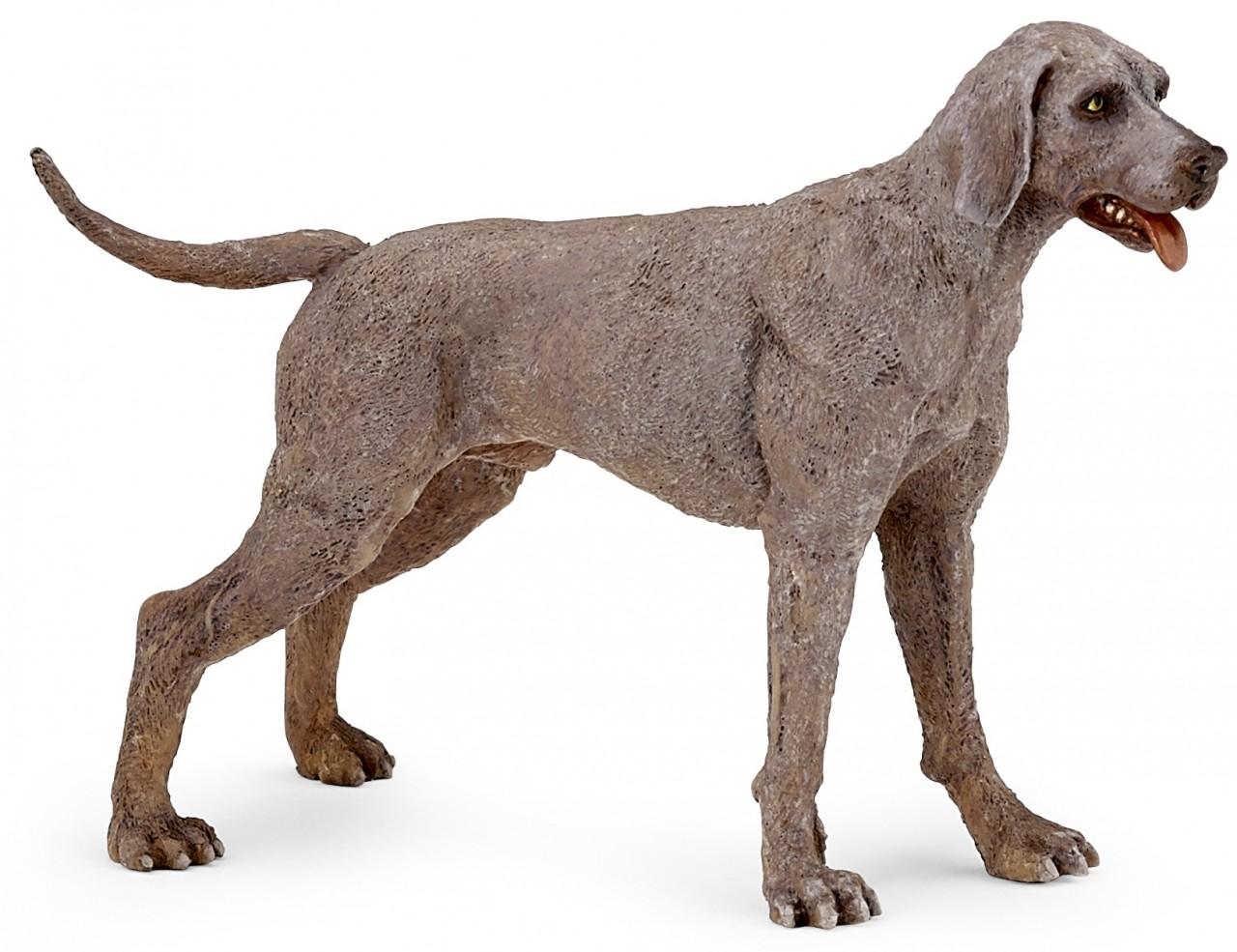Фигурка - Веймарская легаваяСобаки и щенки (Dogs &amp; Puppies)<br>Фигурка - Веймарская легавая<br>