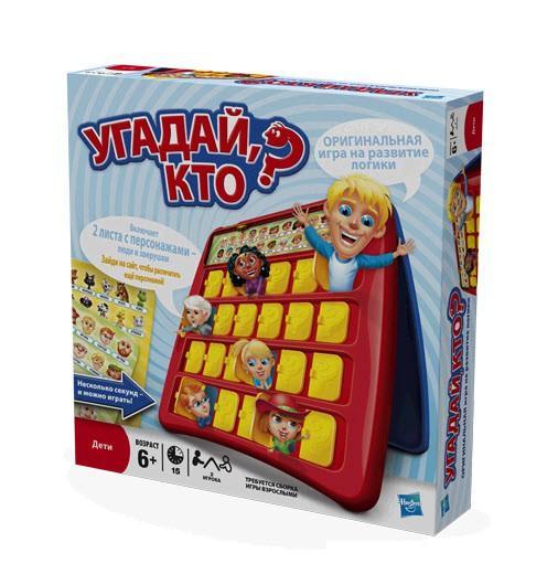 Детская развивающая игрушка Угадай Кто?, русский язык, обновлённая версия - Логические, артикул: 22367