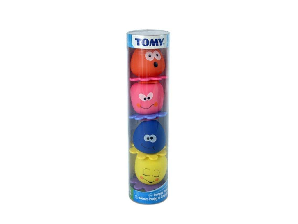 Набор для ванной - Семейка ОсьминоговРезиновые игрушки<br>Набор для ванной - Семейка Осьминогов<br>