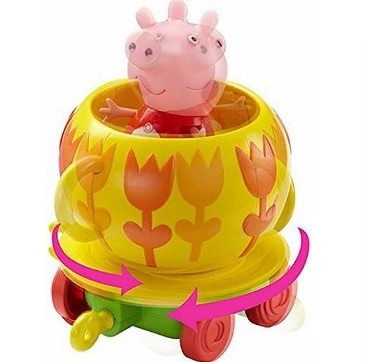 Купить Игровой набор – Каталка Чашечка с фигуркой из серии Свинка Пеппа, Росмэн