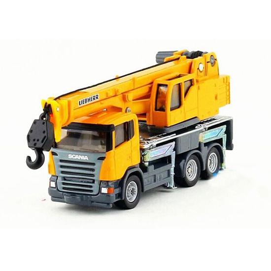 Купить Телескопический автокран Siku Scania Liebherr, масштаб 1:87