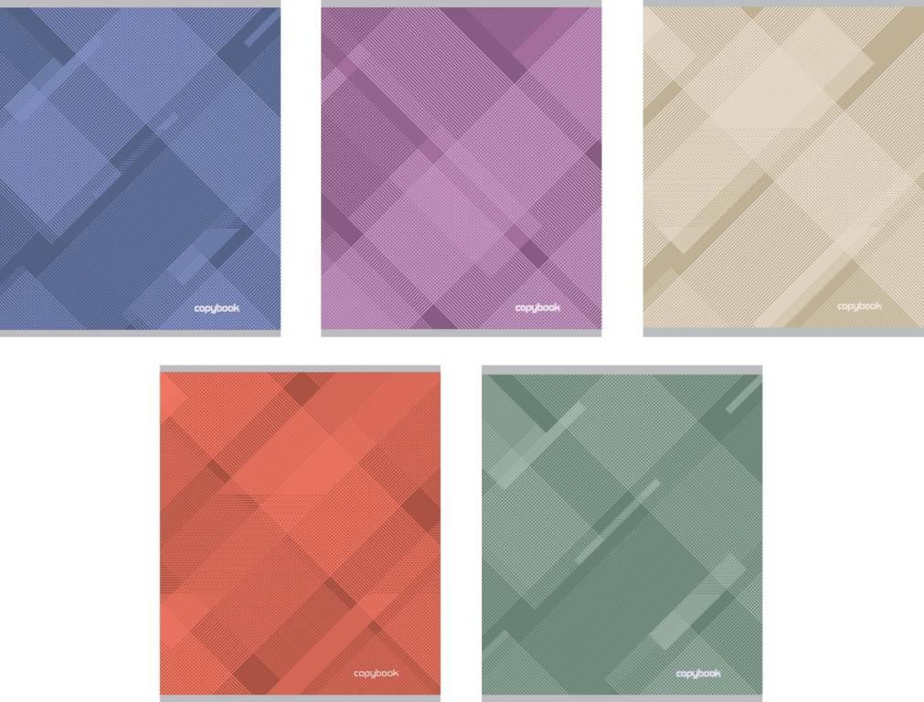 Ученическая тетрадь Soft Line в линейку, 48 листовТетради<br>Ученическая тетрадь Soft Line в линейку, 48 листов<br>