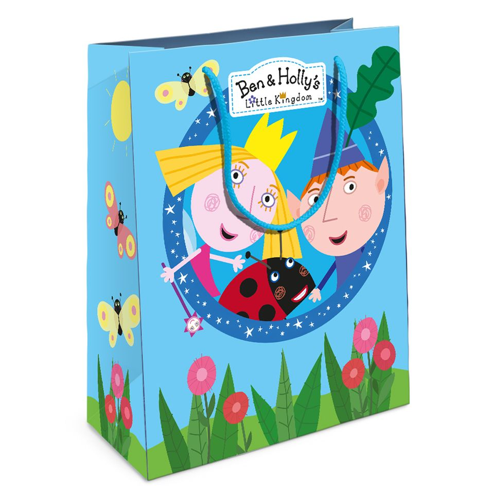 Купить Пакет подарочный из серии Бен и Холли, 23 х 18 х 10 см., Росмэн