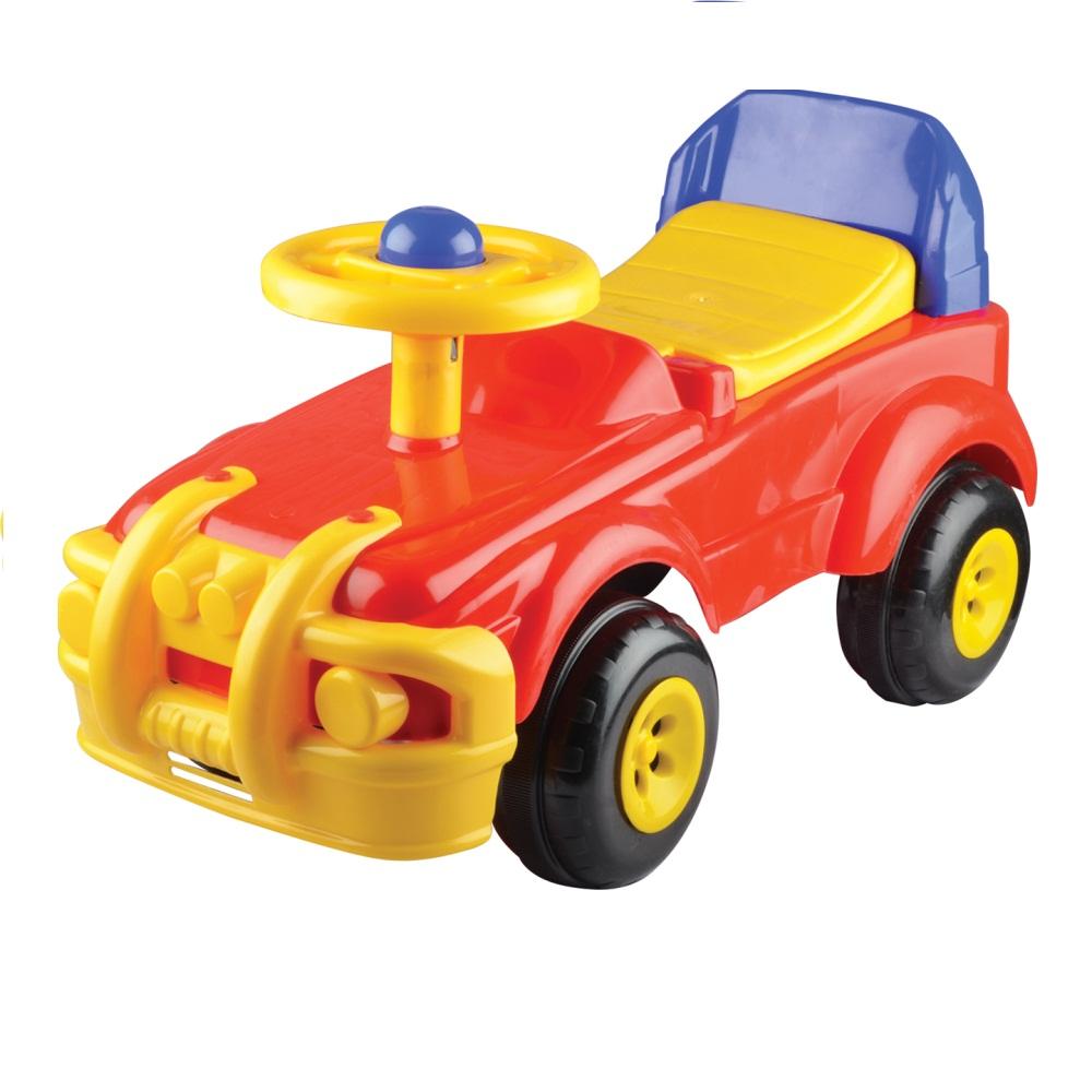 Машинка-каталка на 4-х колесах фото
