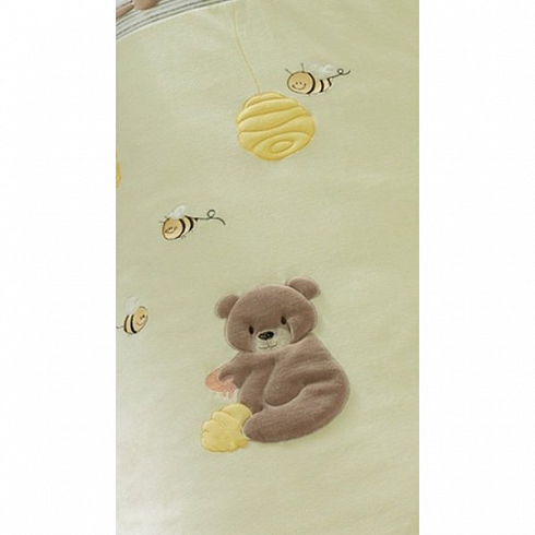 Комплект из 4-ти предметов серии - Honey Bear, linen