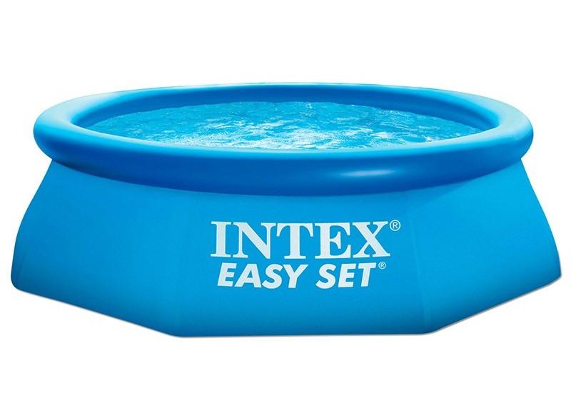 Купить Надувной бассейн Изи сет, размер 244 х 76 см. + фильтр-насос 220 в., Intex