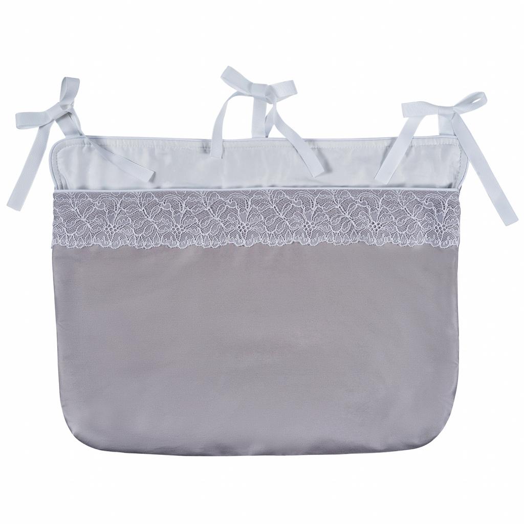 Сумка навесная Chepe for Nuovita - Tenerezza / Нежность 1 предмет, цвет бело-серый