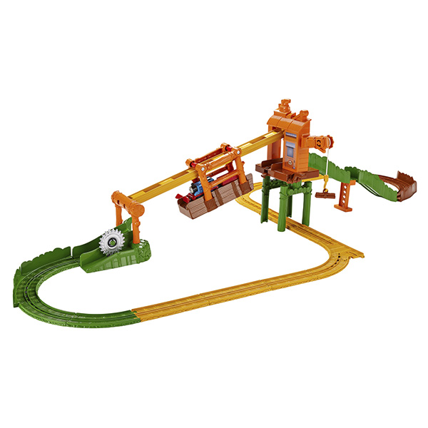 Игровой набор с навесной дорогой Томас и его друзья - Туманный островДетская железная дорога<br>Игровой набор с навесной дорогой Томас и его друзья - Туманный остров<br>