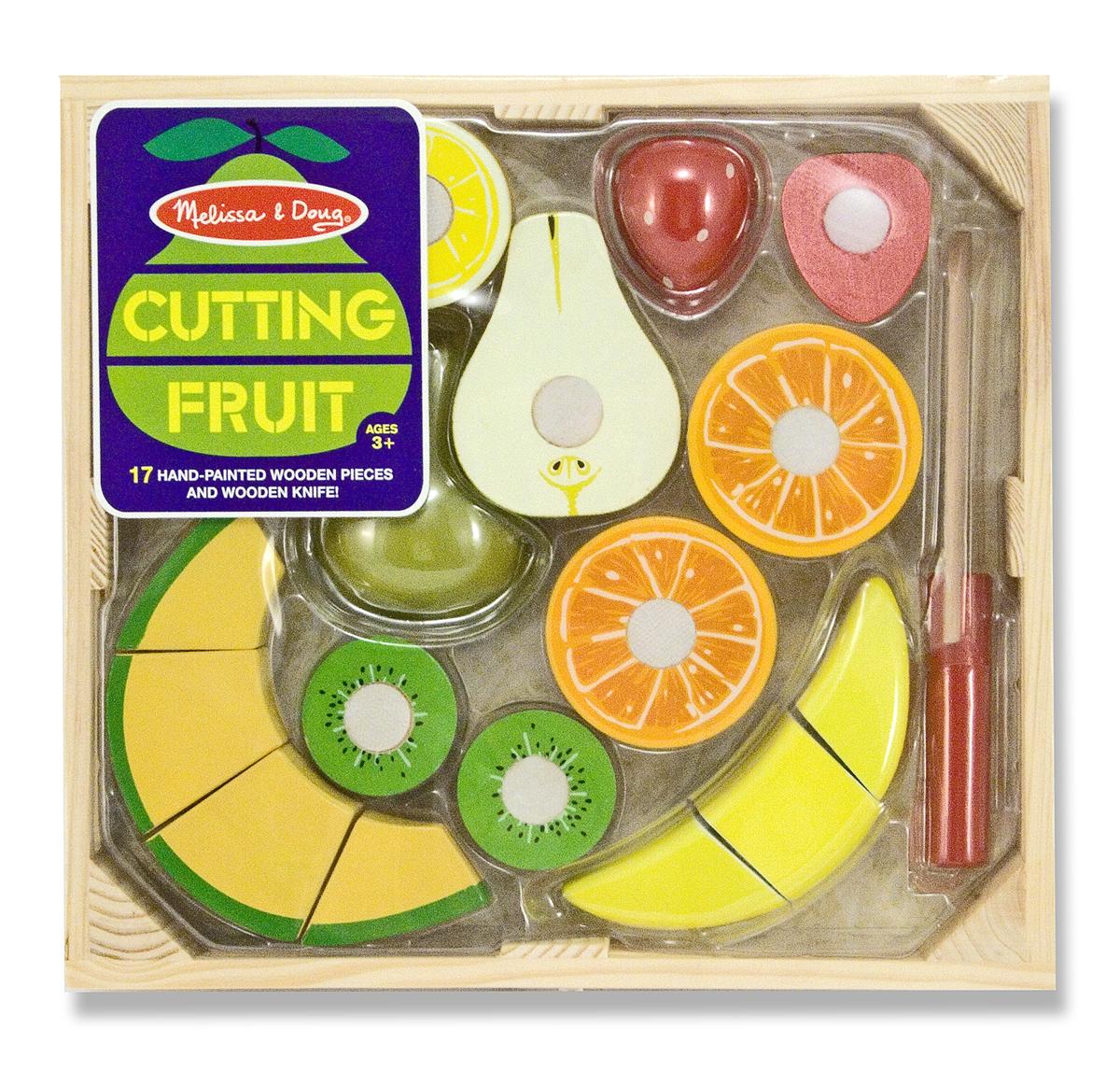 Набор порезанных фруктов из серии Готовь и играй , Melissa&Doug  - купить со скидкой