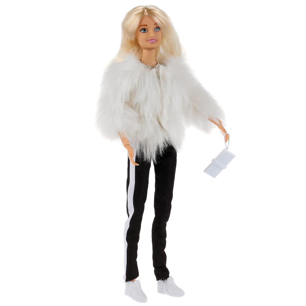 Кукла София в шубе с аксессуарами, 29 см
