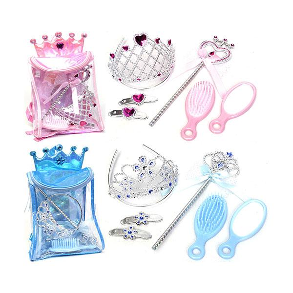 Игровой набор - Рюкзачок с аксессуарами для девочекЮная модница, салон красоты<br>Игровой набор - Рюкзачок с аксессуарами для девочек<br>
