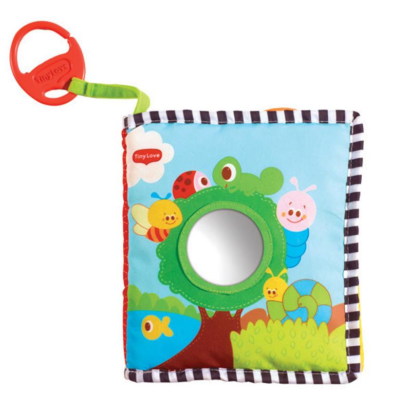 Книжка-подвеска Лесное озеро - Детские погремушки и подвесные игрушки на кроватку, артикул: 49060
