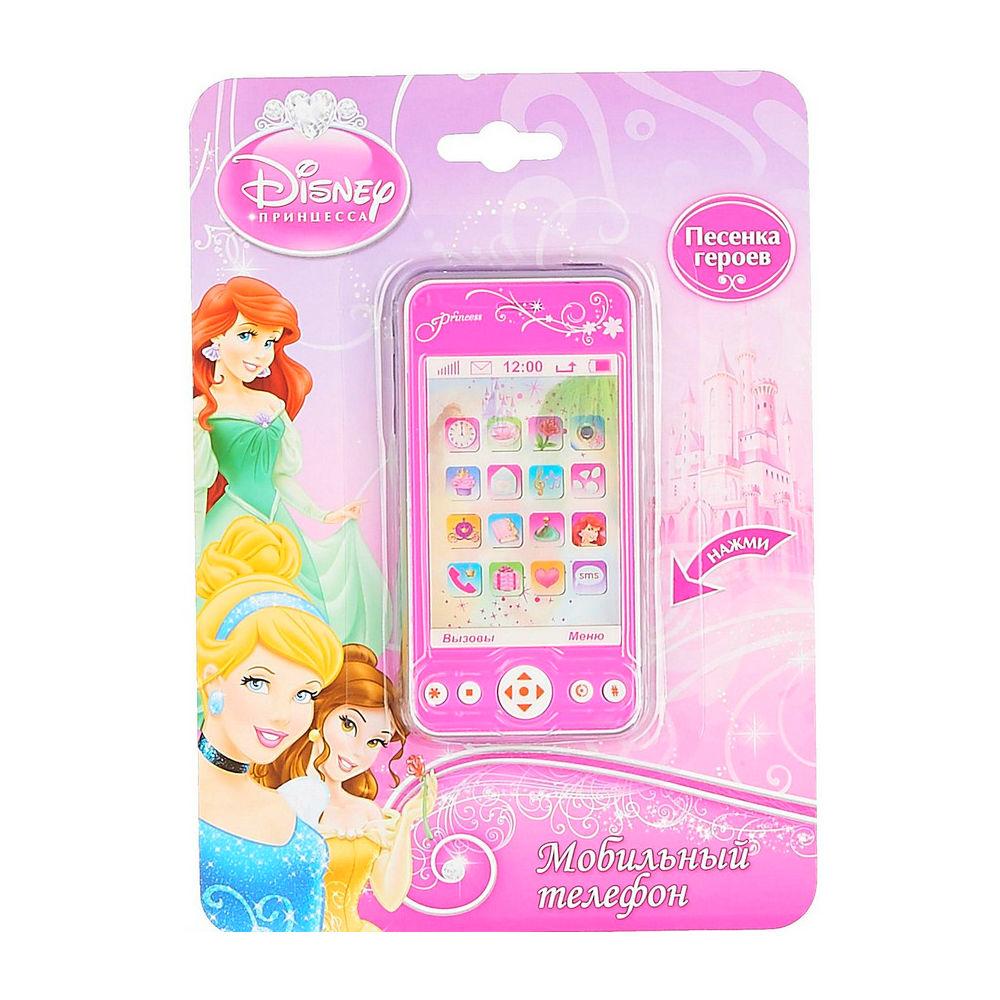 Купить со скидкой Телефон «Принцессы» с 3Д экраном, звуковыми эффектами и песней