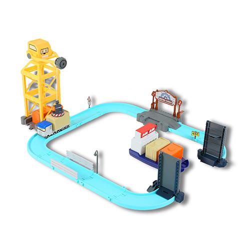 Набор игровой – Порт с разводным мостом, Poli RobocarRobocar Poli. Робокар Поли и его друзь<br>Набор игровой – Порт с разводным мостом, Poli Robocar<br>