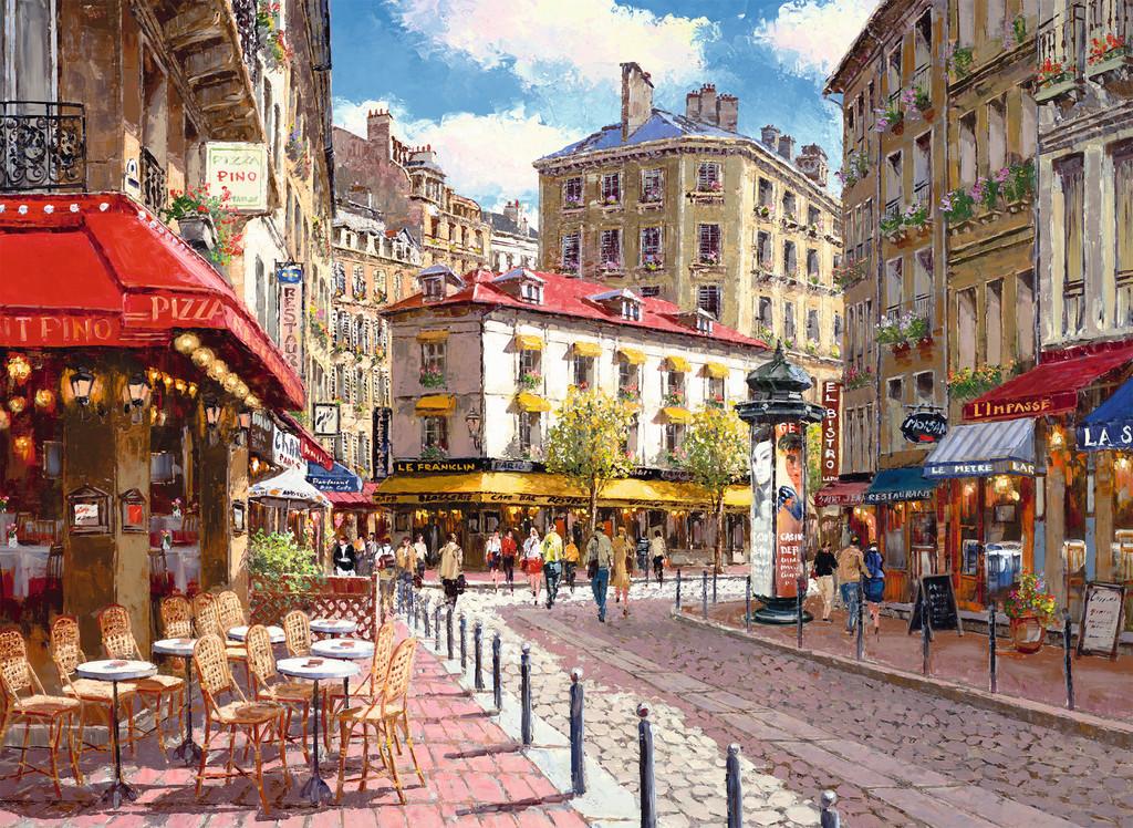 Паззл «Кафе в старом городе» 500 штПазлы Ravensburger<br>Паззл «Кафе в старом городе» 500 шт<br>