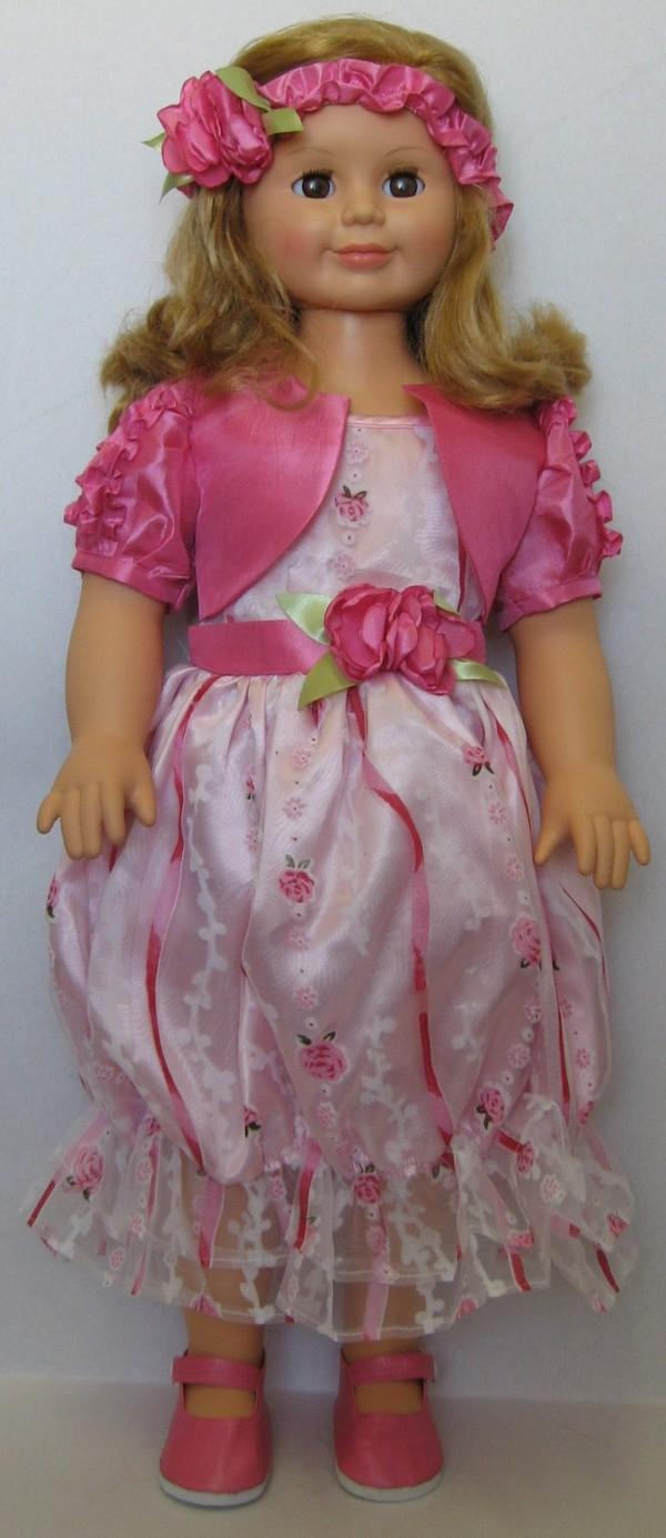 Кукла Милана 9 со звуковым устройством, 70 смРусские куклы фабрики Весна<br>Кукла Милана 9 со звуковым устройством, 70 см<br>