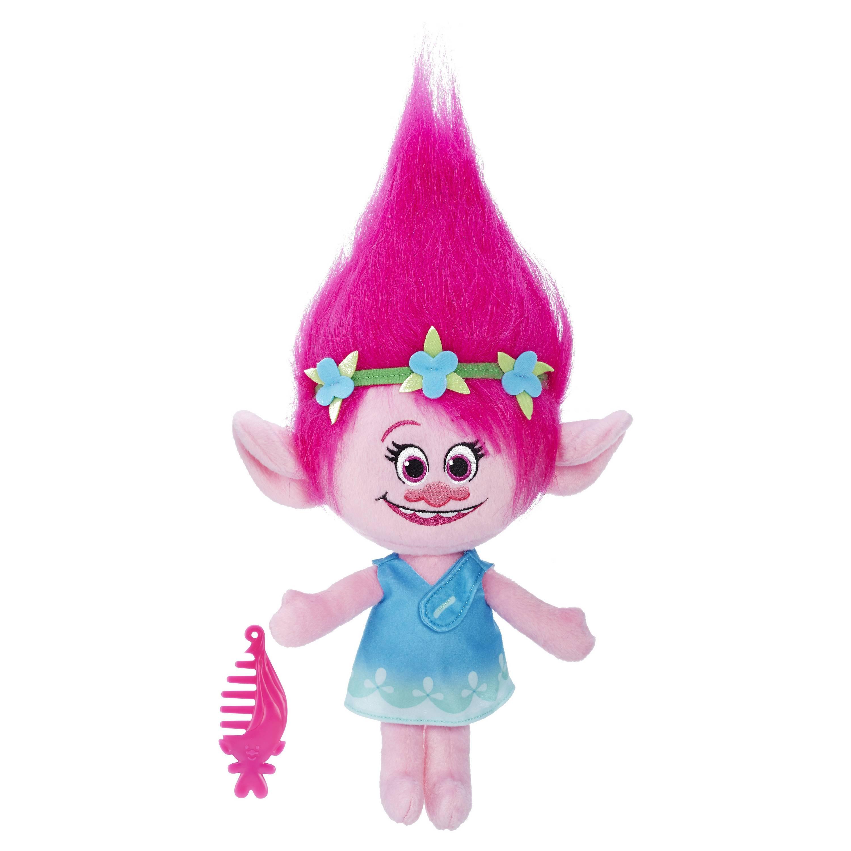 Мягкая игрушка Тролли - Говорящая ПоппиТролли игрушки<br>Мягкая игрушка Тролли - Говорящая Поппи<br>