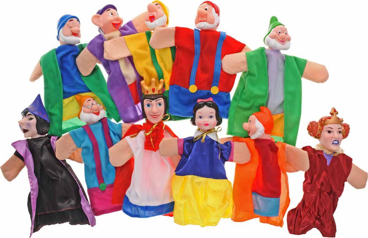Кукольный театр – Белоснежка, 11 куколДетский кукольный театр <br>Кукольный театр – Белоснежка, 11 кукол<br>