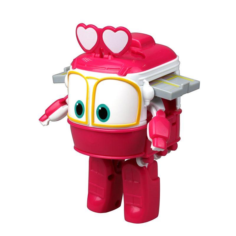 Трансформер Сэлли из серии Роботы-поезда, 10 см.Роботы-поезда (Robot Trains)<br>Трансформер Сэлли из серии Роботы-поезда, 10 см.<br>