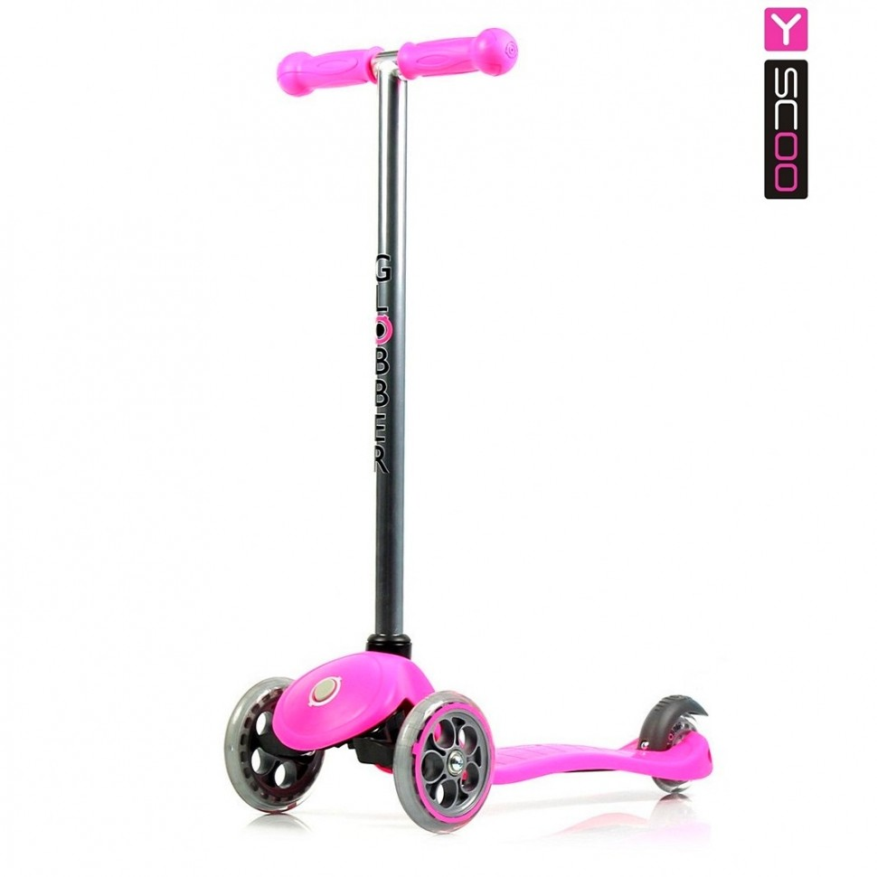 Купить Самокат Globber My free FIXED, розовый, с блокировкой колес
