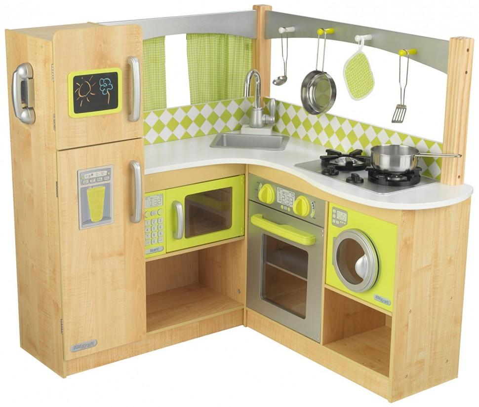 Игровая кухня Лайм - угловаяДетские игровые кухни<br>Игровая кухня Лайм - угловая<br>