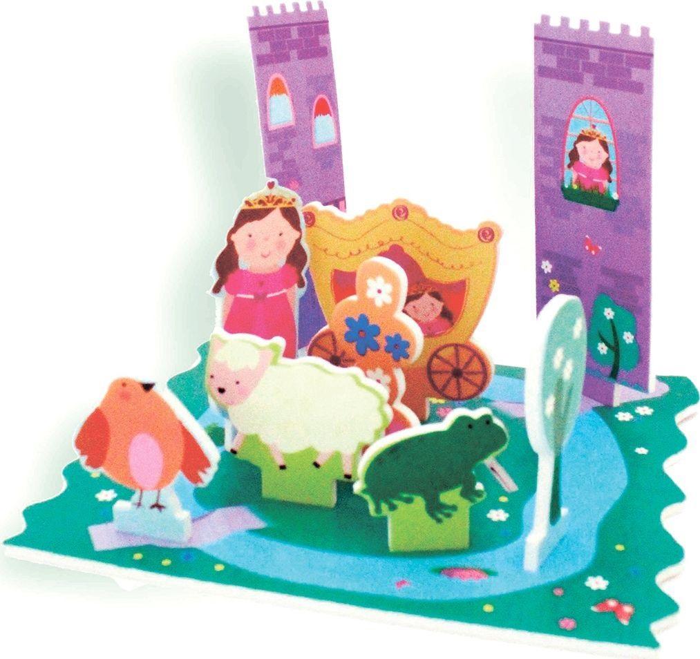 Стикеры для ванны - Замок принцессыСтикеры для ванны<br>Стикеры для ванны - Замок принцессы<br>