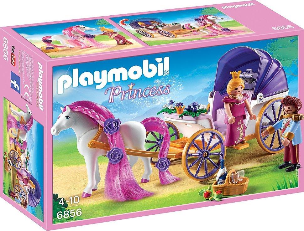 Купить Игровой набор из серии - Замок Принцессы: Королевская чета с каретой, Playmobil
