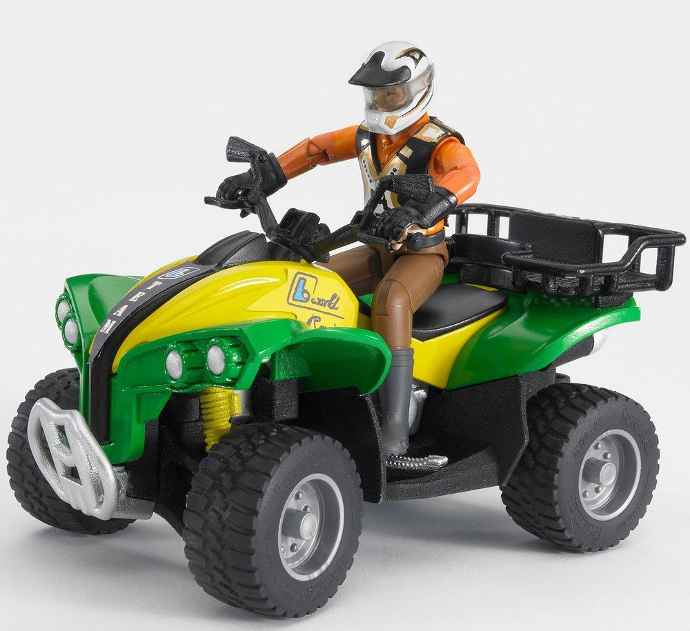 Квадроцикл с гонщикомФургоны и машины<br>Квадроцикл с гонщиком<br>