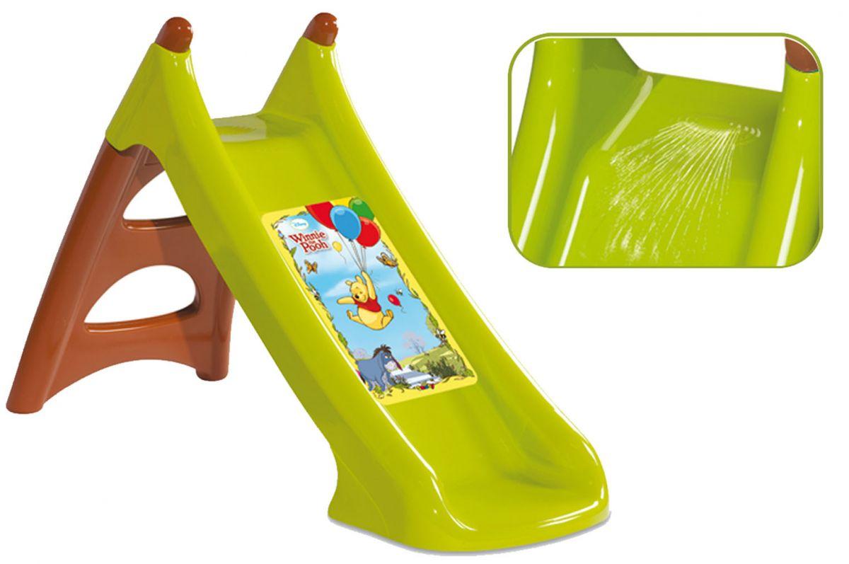 Горка Smoby WinnieДетские игровые горки<br>Горка Винни предназначена для детей от 2-х лет.<br>Подходит как для игры на улице, так и в закрытых помещениях...<br>