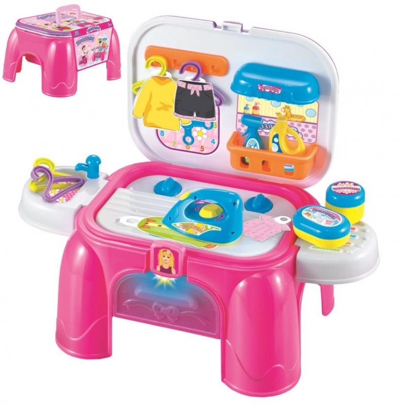 Купить Игровой набор в чемоданчике из серии Профи - Хозяюшка 2 в 1 со световыми и звуковыми эффектами, 21 предмет, 1TOY