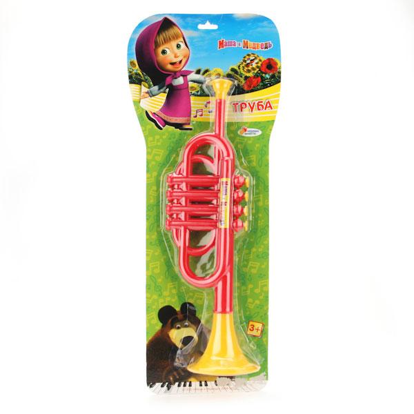 Труба «Маша и медведь»Духовые инструменты<br>Труба «Маша и медведь»<br>