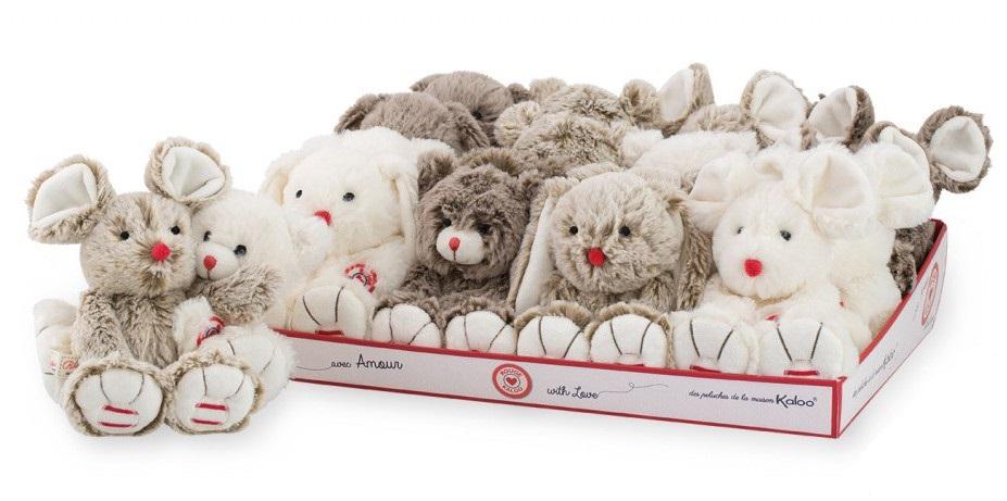 Купить Мягкая мини-игрушка из серии Руж, несколько видов, 19 см., Kaloo