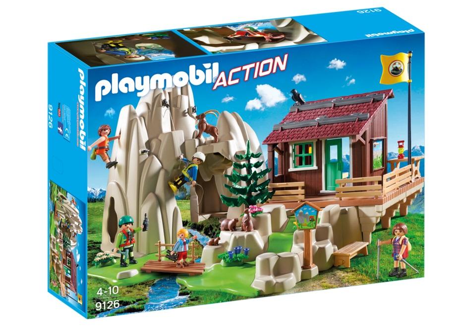 Купить Игровой набор из серии Горноспасательная: Склон и горная хижина, Playmobil