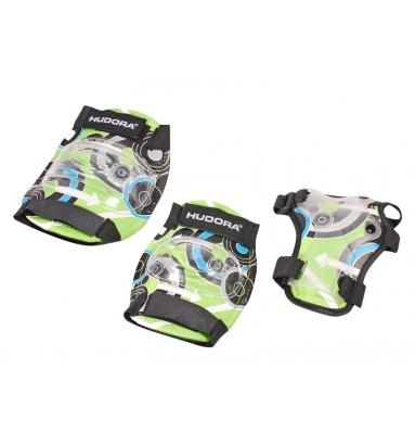 Купить Комплект защиты Green Style, размер S green/зеленый, Hudora