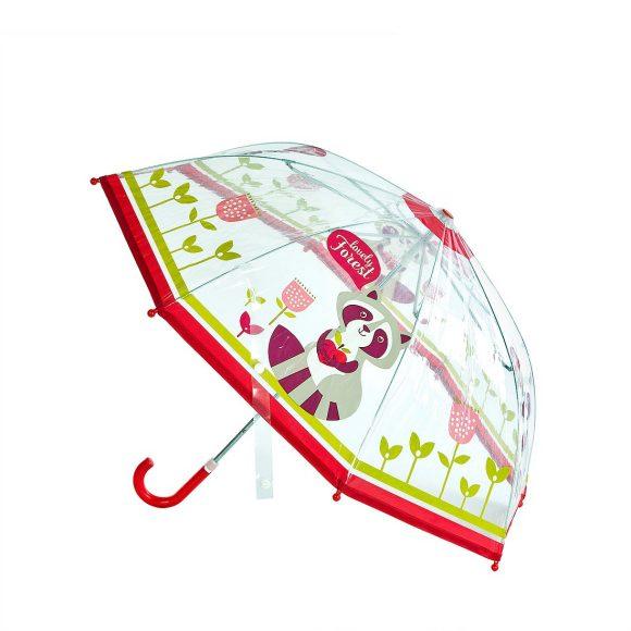 Детский зонт из коллекции Cherry - Apple forest, прозрачный, 46 смДетские зонты<br>Детский зонт из коллекции Cherry - Apple forest, прозрачный, 46 см<br>