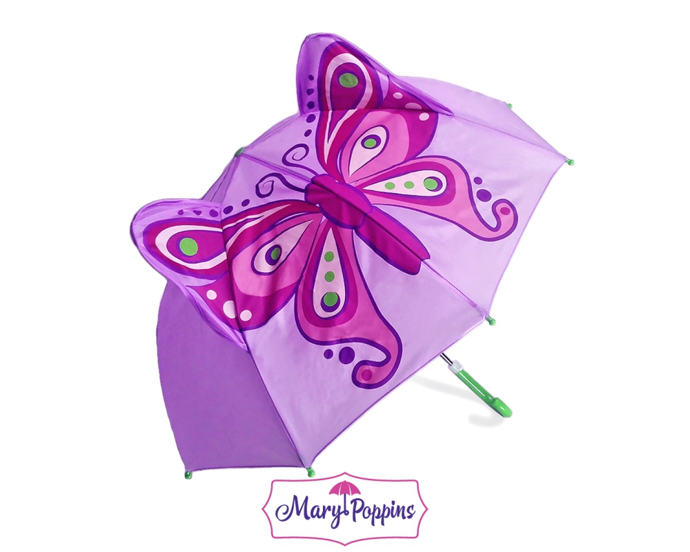 Купить Зонт детский Бабочка, 46 см, Mary Poppins