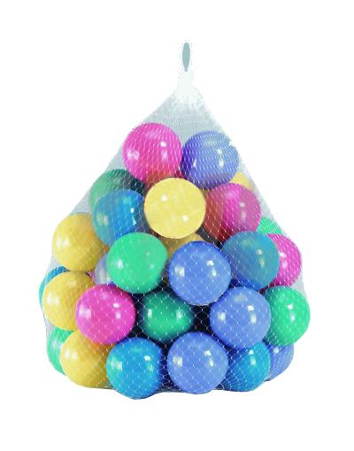 Комплект шариков, 100 штук, 6 см