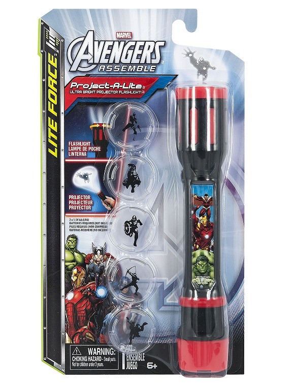 Купить Фонарик-проектор 3 в 1 Marvel Avengers, Tech4Kids