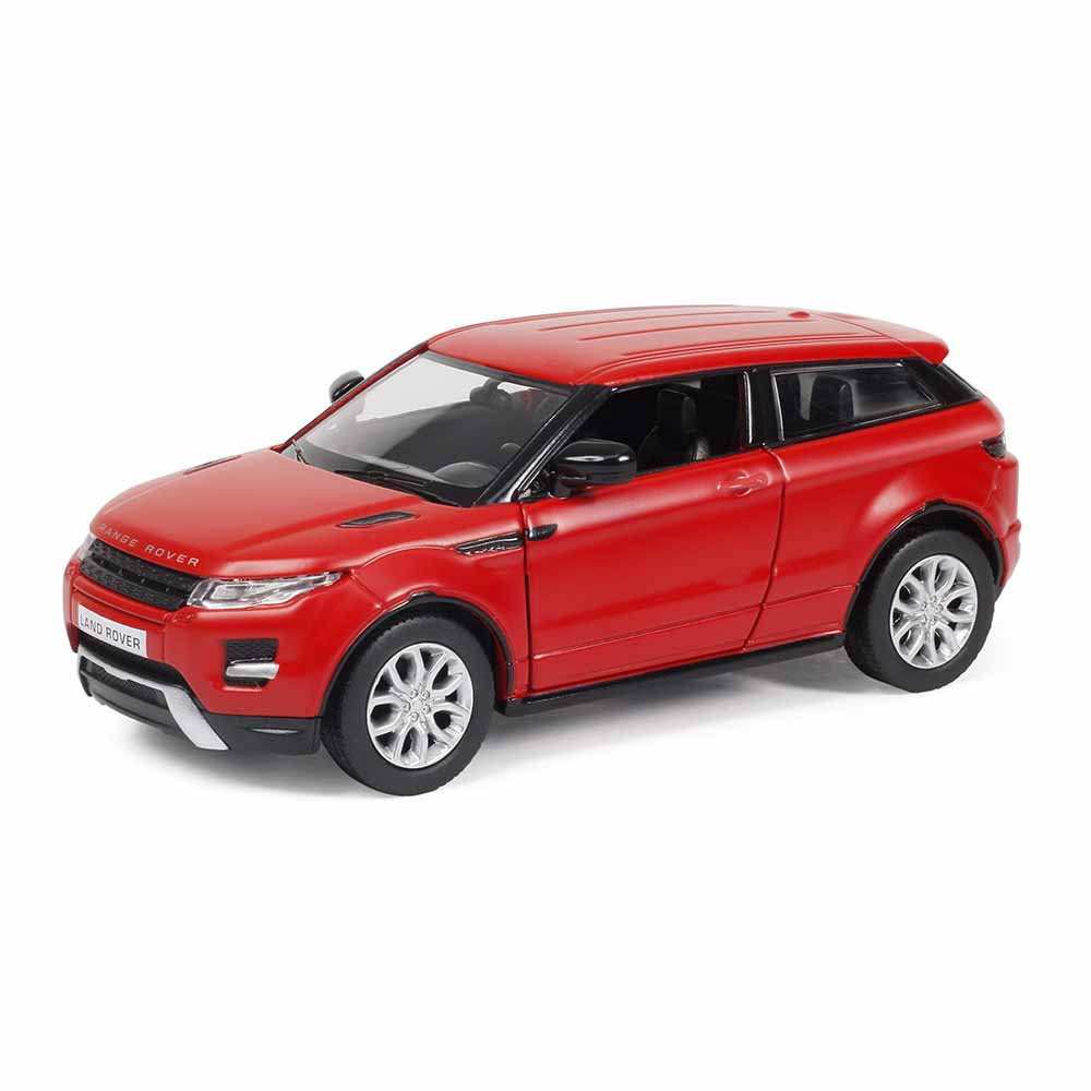 Купить Металлическая инерционная машина RMZ City - Range Rover Evoque, 1:32, красный матовый