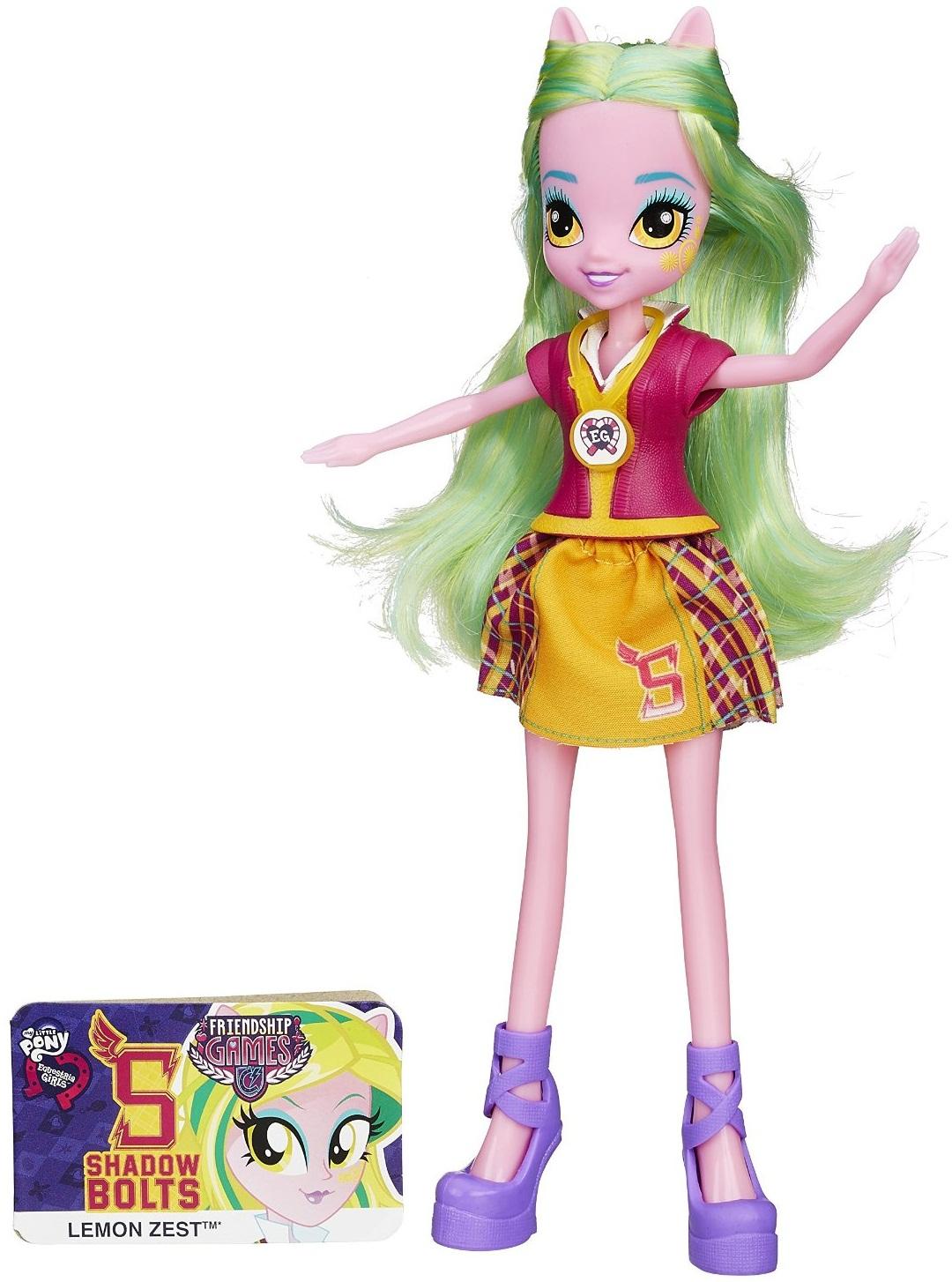 Кукла «Девушки Эквестрии» School Spirit - Лемон ЗестМоя маленькая пони (My Little Pony)<br>Кукла «Девушки Эквестрии» School Spirit - Лемон Зест<br>