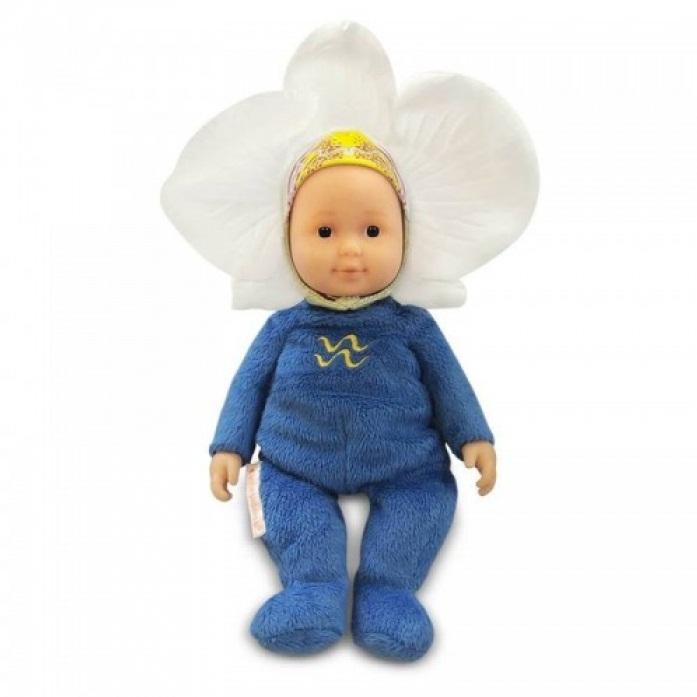 Кукла из серии - детки - Знаки зодиака - Водолей, 23 смКуклы детки ANNE GEDDES<br>Кукла из серии - детки - Знаки зодиака - Водолей, 23 см<br>