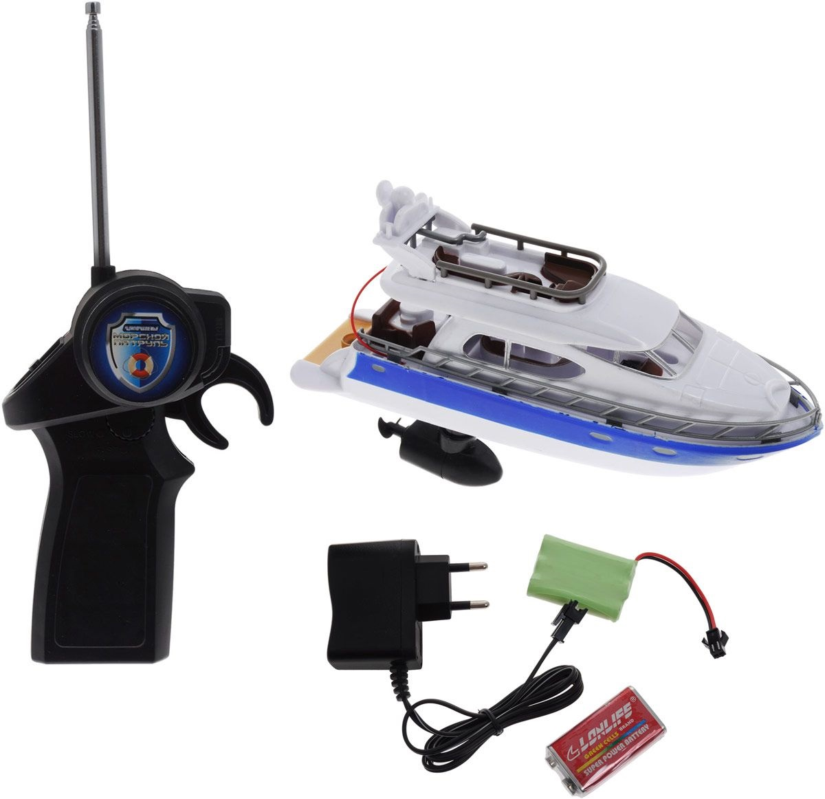 Катер радиоуправляемый Морской патрульКатера, лодки и корабли на радиоуправлении<br>Катер радиоуправляемый Морской патруль<br>